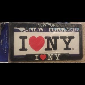 Other - New York license plate cover